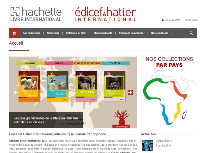 Editions Hachette Livre International